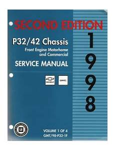 small engine repair manuals free download 1998 chevrolet blazer spare parts catalogs 1998 chevrolet gmc p30 p32 p40 p42 motorhome commercial chassis service manual 4