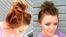 bun tutorial for short hair youtube
