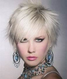 short funky hairstyles for women