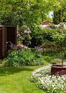create a country style garden better homes and gardens