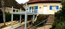veranda sur pilotis extension terrasse sur pilotis