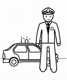 Malvorlagen Gratis Polizei Polizei 6 Ausmalbilder