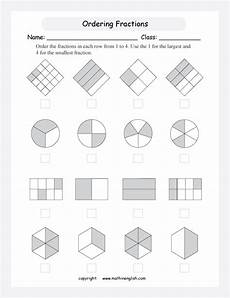 fraction worksheets grade 3 free 3946 put equivalent fractions in order from the smallest to the greatest great fraction worksheet