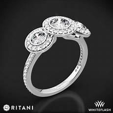 ritani endless love 3 stone engagement ring 2177