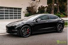 tesla model 3 black tesla model 3 20 tss flow forged wheel in gloss black by