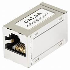 Lan Kabel Rj45 Verbinder Doppelkupplung Cat 6a G 252 Nstig