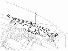 motor repair manual 2002 kia sedona windshield wipe control kia sedona front wiper motor repair procedures windshield wiper washer body electrical
