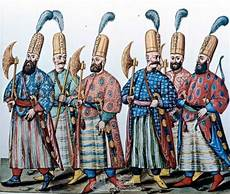ottoman warriors from i turchi codex vindobonensis 8626 c 1591 the janissary archives