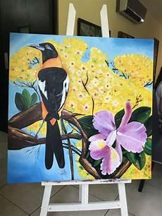 imagen de los simbolos naturales de venezuela venezuela s 237 mbolos patrios el araguaney la orqu 237 dea y el turpial simbolos patrios murales