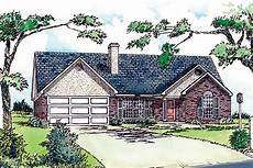 small brick house plans small and friendly brick house plan 8275dc
