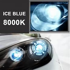 xenon licht blau headlight bran new 2x hid xenon h13 9008 kit light bulbs