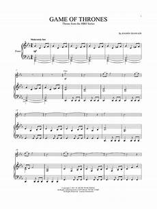 ramin djawadi quot game of thrones quot sheet music pdf notes