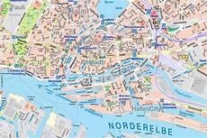 Hamburg Sehenswürdigkeiten Karte - hamburg auf karte kleve landkarte