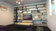 bibliothèque moderne sur mesure meuble biblioth 232 que en bois massif et acier sur mesure