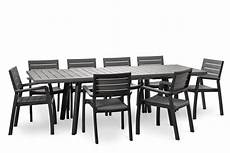 salon de jardin gris anthracite salon de jardin harmony gris anthracite avec table