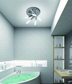 brushed steel tubular bathroom ip44 light