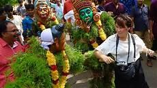 know all about kerala traditional kerala traditional festival kummatti kali onam youtube