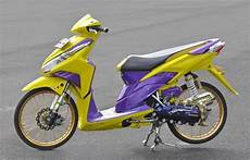 Modifikasi Motor Vario Techno by Modifikasi Motor Honda Vario Techno Modif Kontes