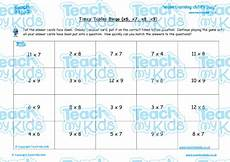 times tables bingo x6 x7 x8 x9 teach my kids
