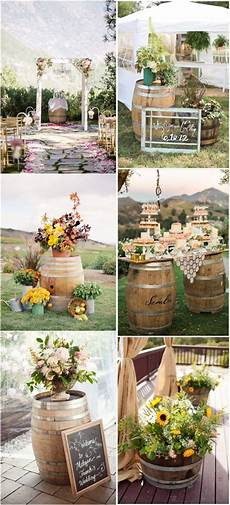 another 20 rustic wine barrels wedding decor ideas deer