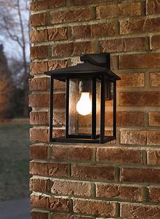 88027 12 one light outdoor wall lantern black