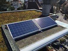 mini solaranlage selber bauen minisolarkraftwerk auf der dachterrasse solaranlage
