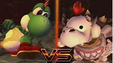 bowser jr vs baby yoshi