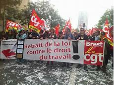 manifestation contre la loi du travail mobilisation contre la loi travail 171 l leur de la manifestation va donner de la 224 la cgt 187