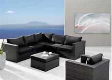 Gartenmöbel Polyrattan Lounge - gartenm 246 belset best aruba 5 teilig polyrattan lounge ebay