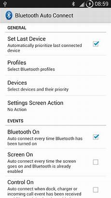 bluetooth auto connect android apps on play