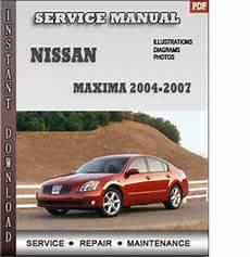 service repair manual free download 2006 nissan maxima lane departure warning 2004 2007 nissan maxima service repair manual