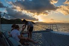 sunset sail hamilton island whitsundays islands
