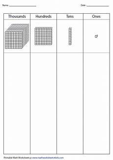subtraction worksheets hundred thousands 10101 14 best images of tens and ones blocks worksheets math base ten blocks worksheets