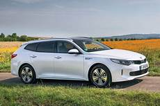 Kia Optima Sportswagon In Hybrid 2017 Test