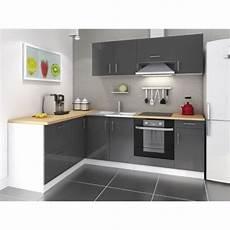 Meuble Cuisine Ikea Pas Cher Mcd Cuisine Complete 280 Cm Laqu 233 Gris Cosy Pas Cher