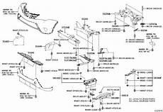 2006 toyota rav 4 engine diagram toyota rav4 radiator support splash shield cover engine no 1 514410r070 genuine