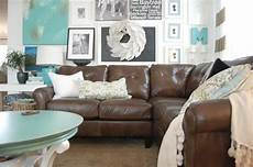 Home Decor Ideas With Brown Couches decorating with a brown sofa