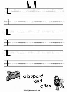 letter l worksheets for kindergarten 23191 learning the letter l