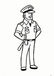 polizei 1 ausmalbilder malvorlagen
