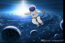 3d Wallpaper Walls Astronaut On The Moon Ceiling Painting