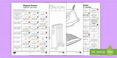 science worksheets year 3 12475 year 3 physical science questions and colouring worksheet worksheets