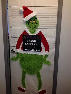 The Grinch Decorations by The Grinch Office Door Decorating Contest