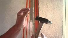 lan kabel unter putz legen im altbau