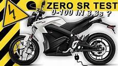 0 100 in 3 3s zero sr e motorrad test schnellstes