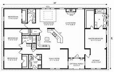 4 bedroom barn house plans 5 bedroom 4 bath rectangle floor plan google search