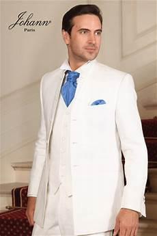 le costume blanc mariage