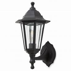 blooma anqui matt black mains powered halogen outdoor lantern wall light departments tradepoint