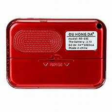 Portable Radio 108mhz Power Memory Digital by Portable Fm Radio 70 108mhz Power Memory Digital