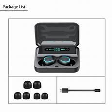 Digital Display Dual Bluetooth Earphone Wireless by Tws Dual Digital Power Display Bluetooth 5 0 Wireless