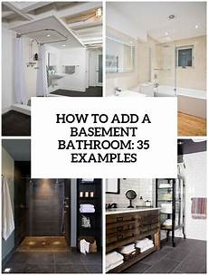 Basement Bathroom Ideas Pictures How To Add A Basement Bathroom 27 Ideas Digsdigs